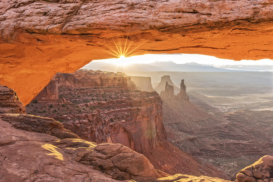 Mesa Arch At Sunrise #1 by Jim Vallee