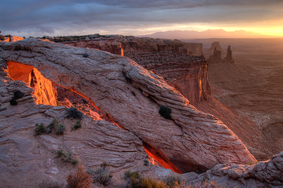 Canyonlands Photograph - Mesa Arch Sunrise II by Jeff Clay