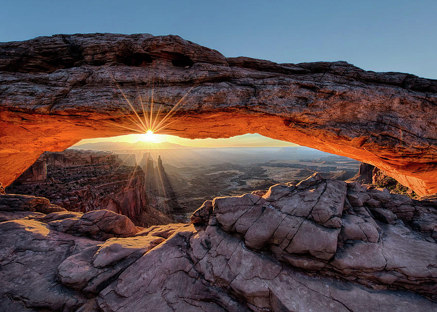 Mesa Arch Sunburst by OLena Art by OLena Art Brand