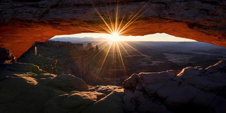 American Southwest Photograph - Mesa Glow by Chad Dutson