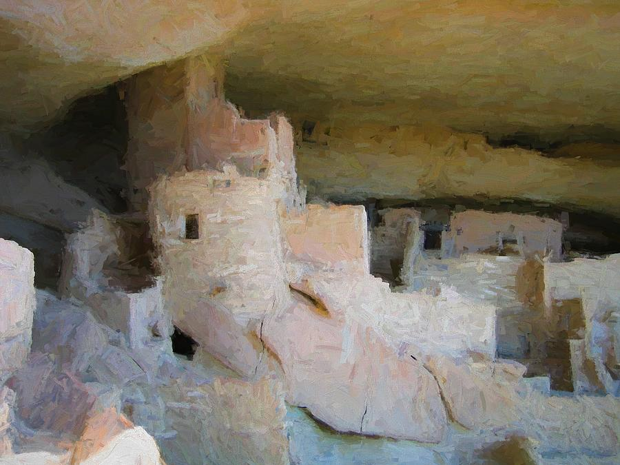 Mesa Verde Oil by Gary Baird