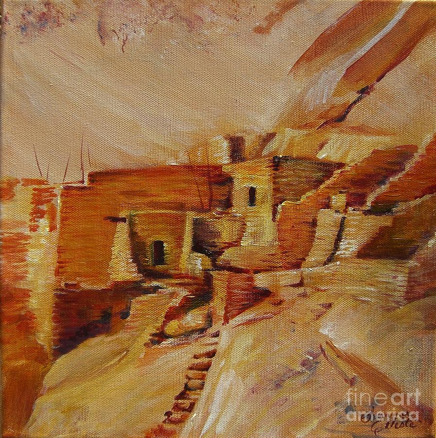 Indian Painting - Mesa Verde by Summer Celeste