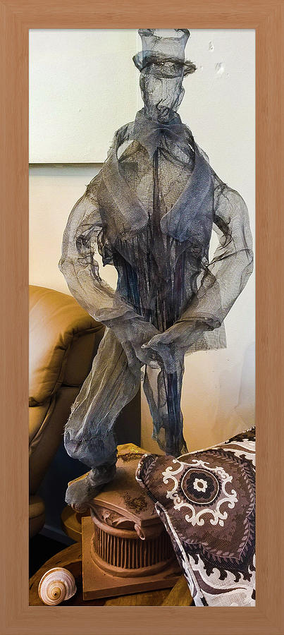 Mesh Man Photograph by Shirley Anderson