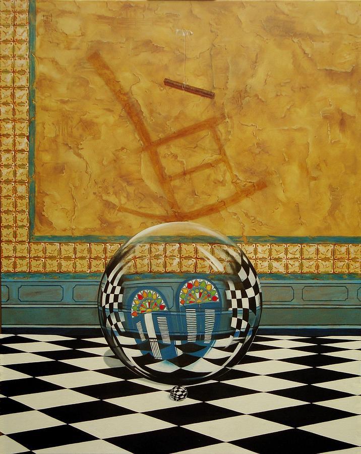Mesiendonos Eternamente -Diptych left side- by Roger Calle