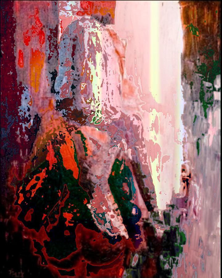 Nude Painting - Mesmerised 1 by Piety Dsilva