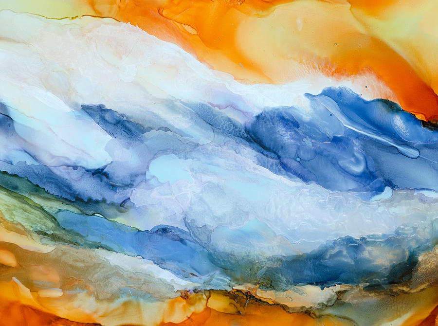 Abstract Painting - Mesmerized - A by Sandy Sandy