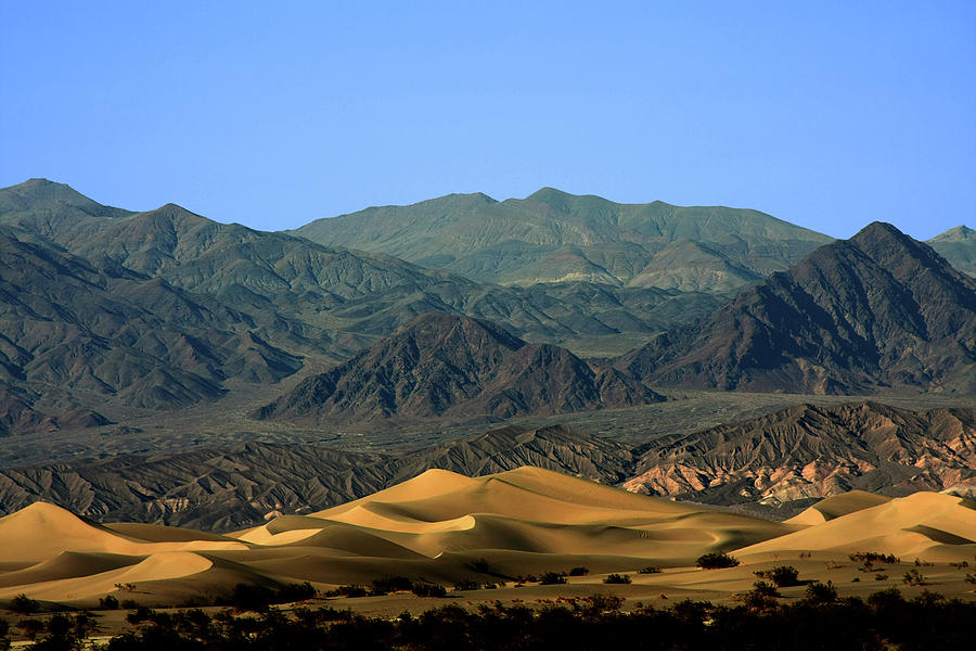 Death Valley National Park Photograph - Mesquite Flat Sand Dunes - Death Valley National Park Ca Usa by Christine Till