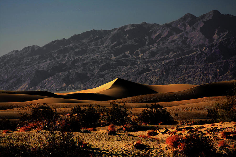 Death Valley National Park Photograph - Mesquite Flat Sand Dunes Death Valley - Spectacularly Abstract by Christine Till