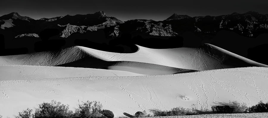 Death Valley Photograph - Mesquite Flats Panorama by Gej Jones