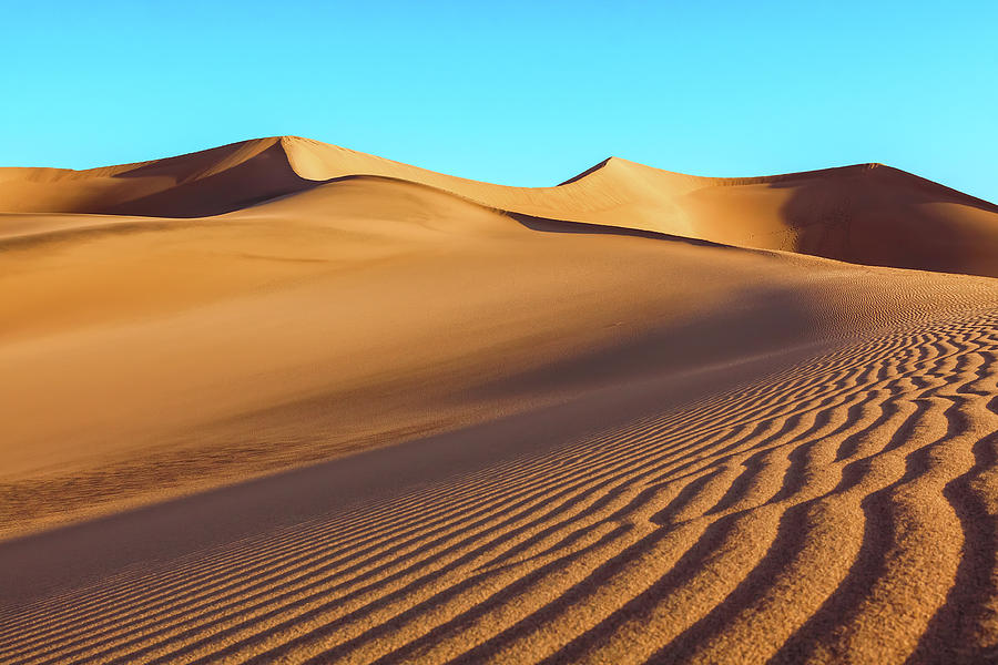 Mesquite Sand-dunes by Jonathan Nguyen