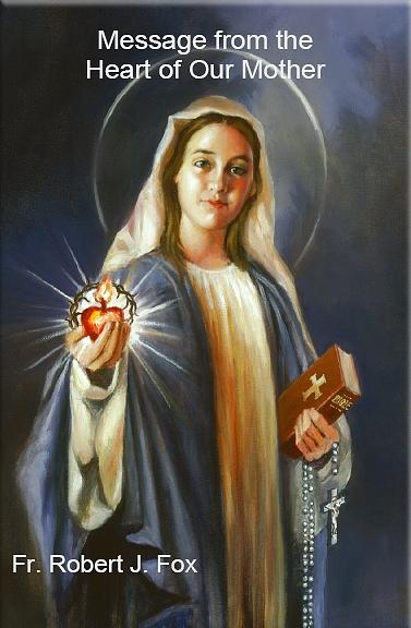 Virgin Mary Painting - Messages From The Heart Of Our Mother - Bookcover by Mark Sanislo