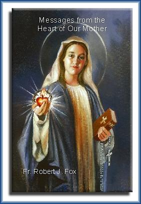 Virgin Mary Print - Messages From the Heart of Our Mother Paperback Book by Mark Sanislo
