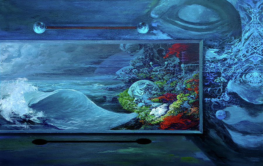 Surrealism Painting - Messenger by Jay Garfinkle