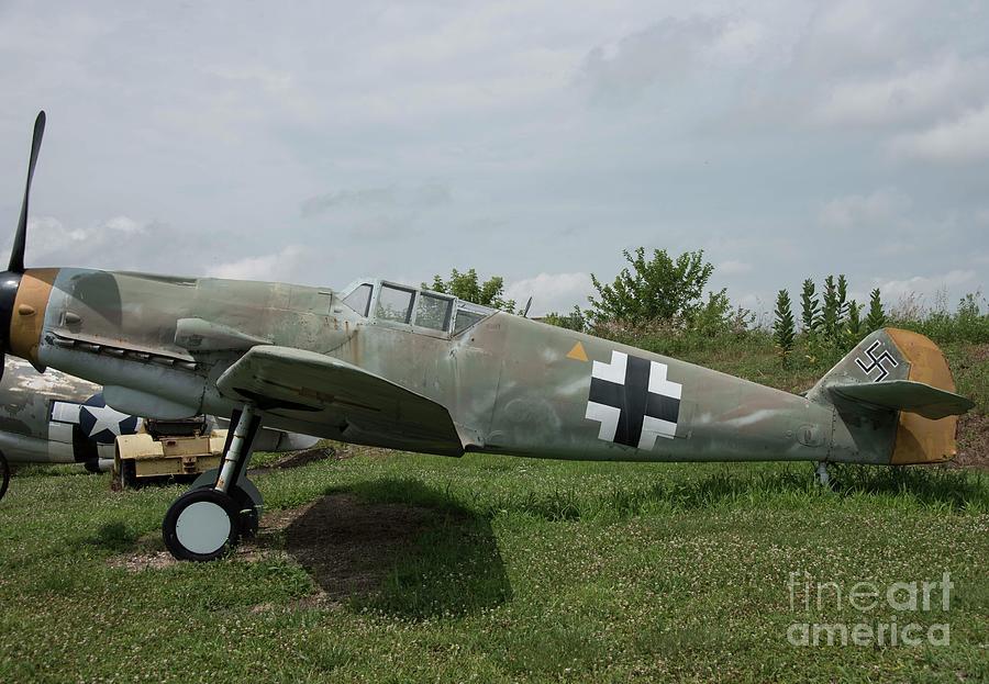 Messerschmitt Photograph - Messerschmitt Bf109 - 2 by David Bearden