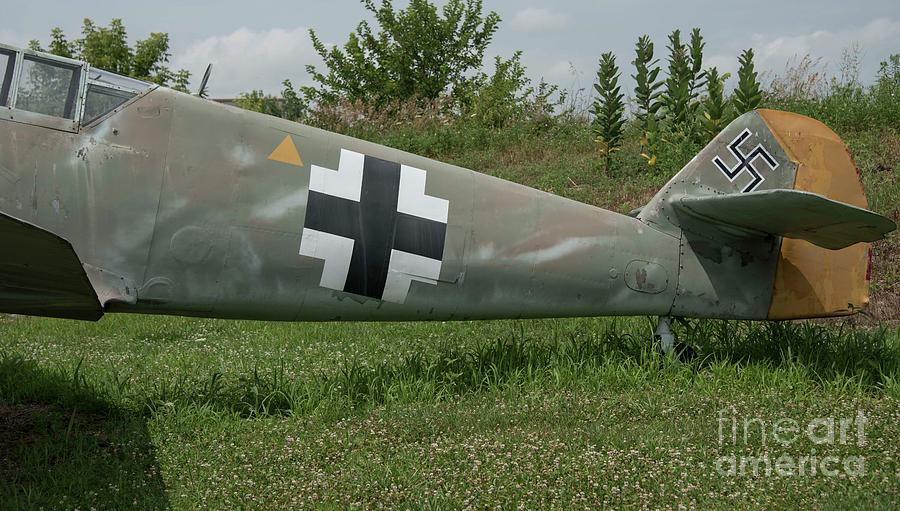 Messerschmitt Photograph - Messerschmitt Bf109 - 3 by David Bearden