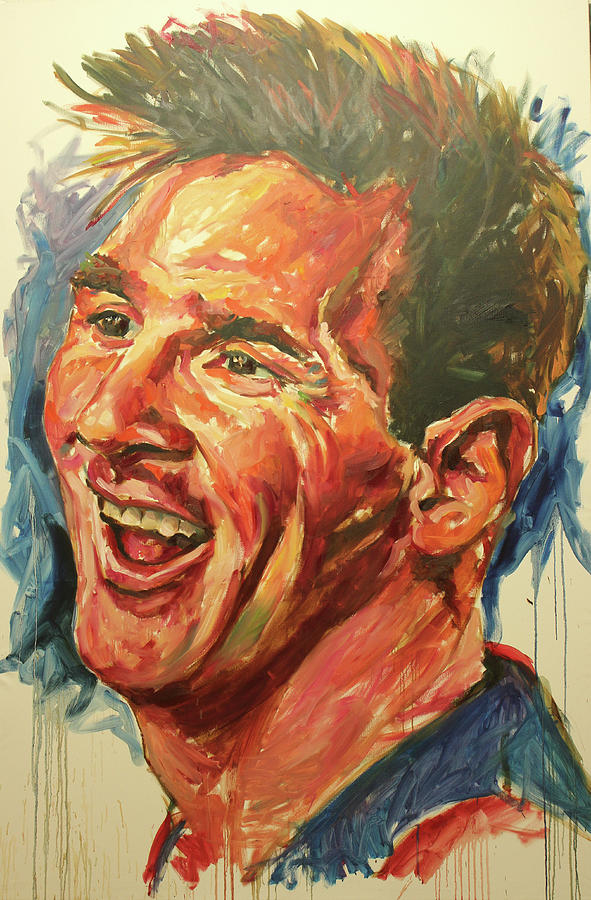Messi by Tachi Pintor