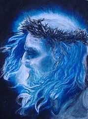 Christ Painting - Messiah by Julianna Ziegler