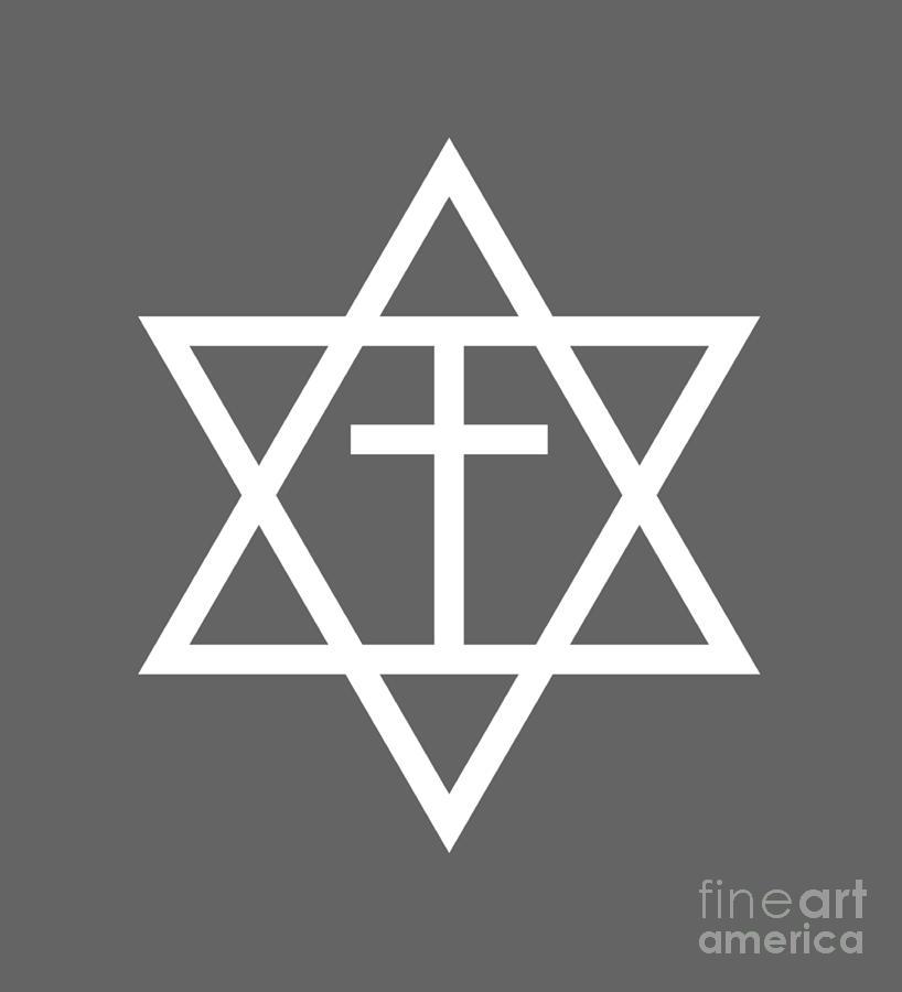 Messianic Judaism Symbol Digital Art By Frederick Holiday