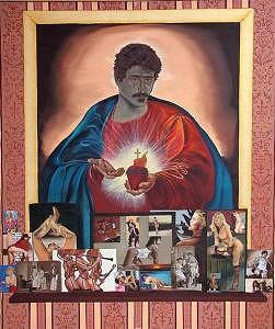Religious Painting - Metafora Di Un Autoritratto by Silvano Battimiello