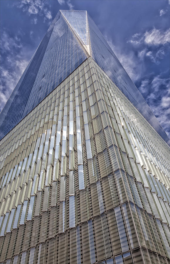 Glass Architecture Photograph - Metal And Glass Highrise Office Building by Robert Ullmann