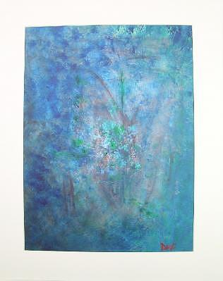 Metal Painting - Metal And Water Abstract. by Lizzy Forrester