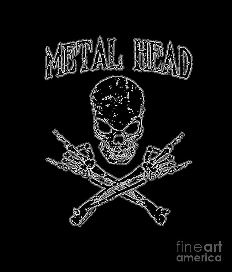 Metal Head by Jessie Art
