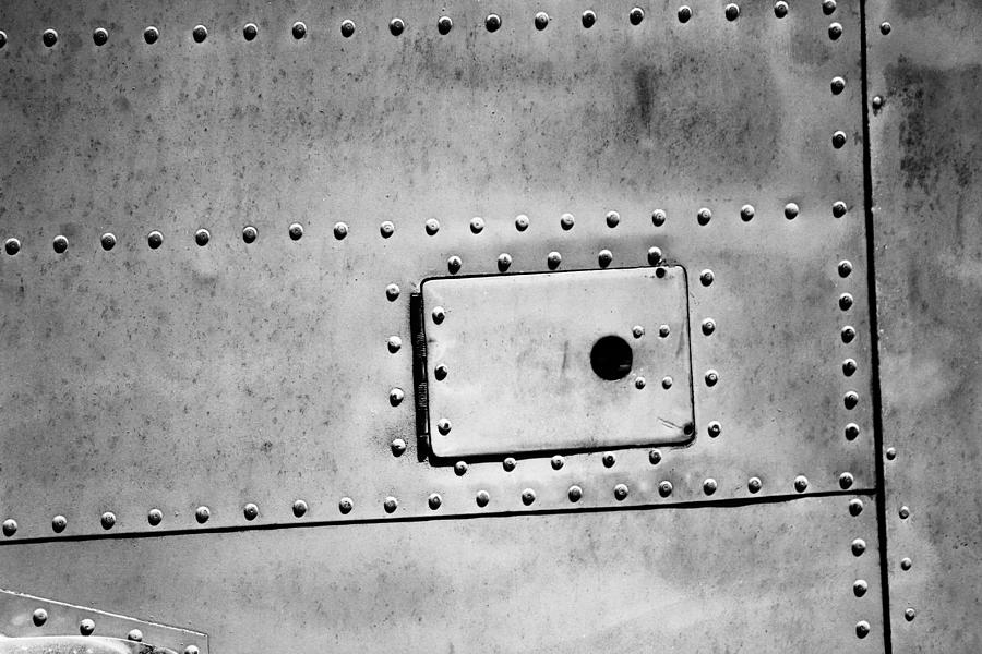 Metal Rivets and a Hatch by Jackie Farnsworth
