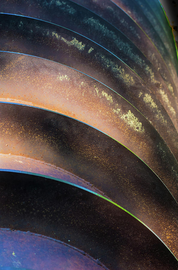 Metal Photograph - Metal Spiral Right by Lea Rhea Photography
