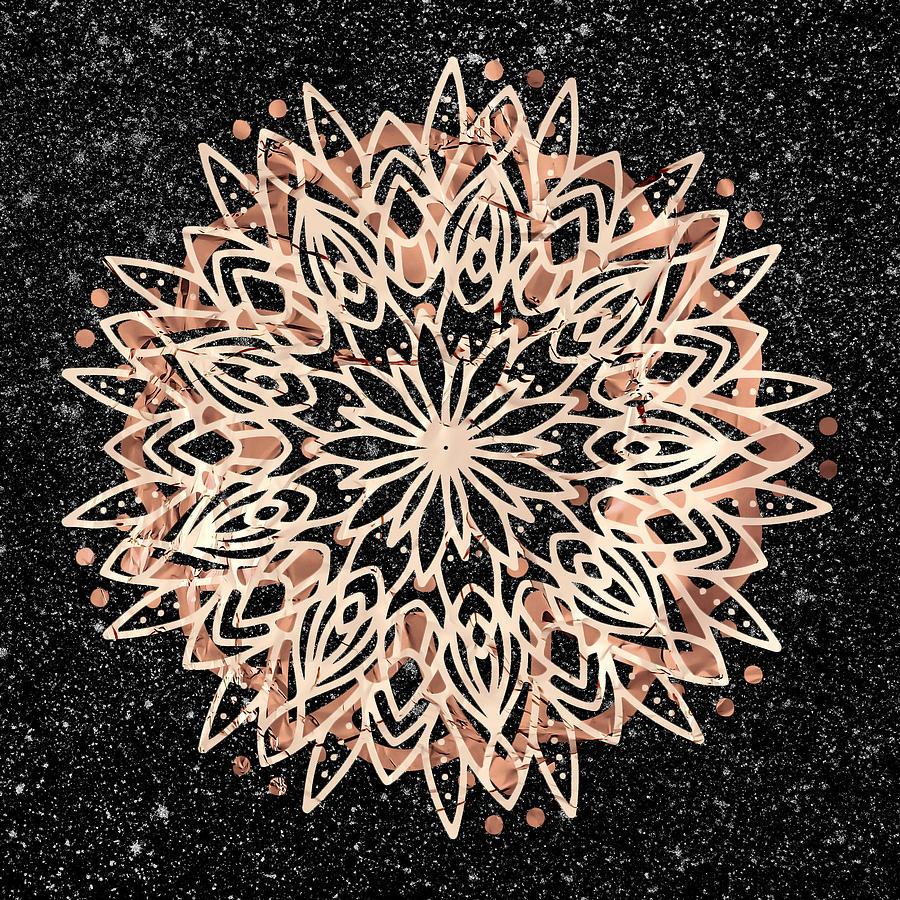 Metallic Mandala by Bee-Bee Deigner