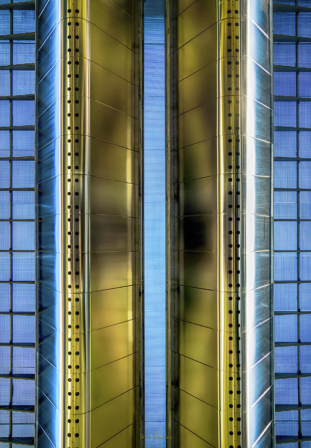Metallic Photograph - Metallic by Wim Lanclus