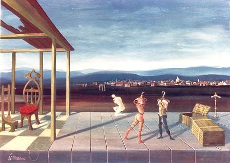 Metamorfosi Di Un Trasloco Painting by Finocchioli Finocchioli
