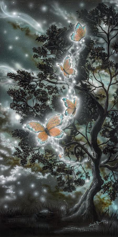Painting Painting - Metamorphosis by Angela Bawden