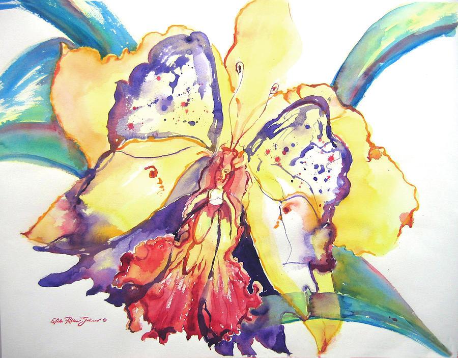 Watercolor Paintings Painting - Metamorphosis by Estela Robles