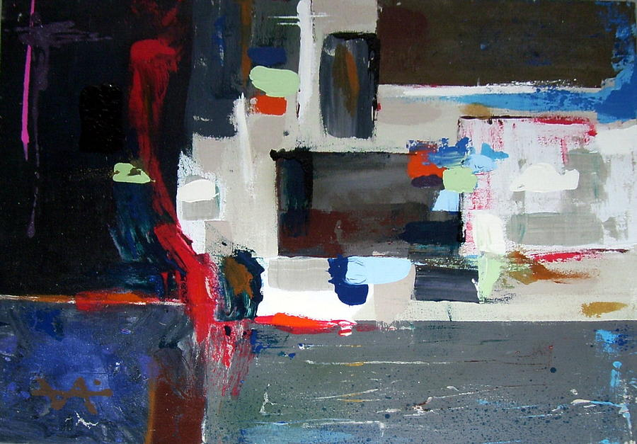 Abstract Painting - Metamorphosis I by Osvaldo Chacon