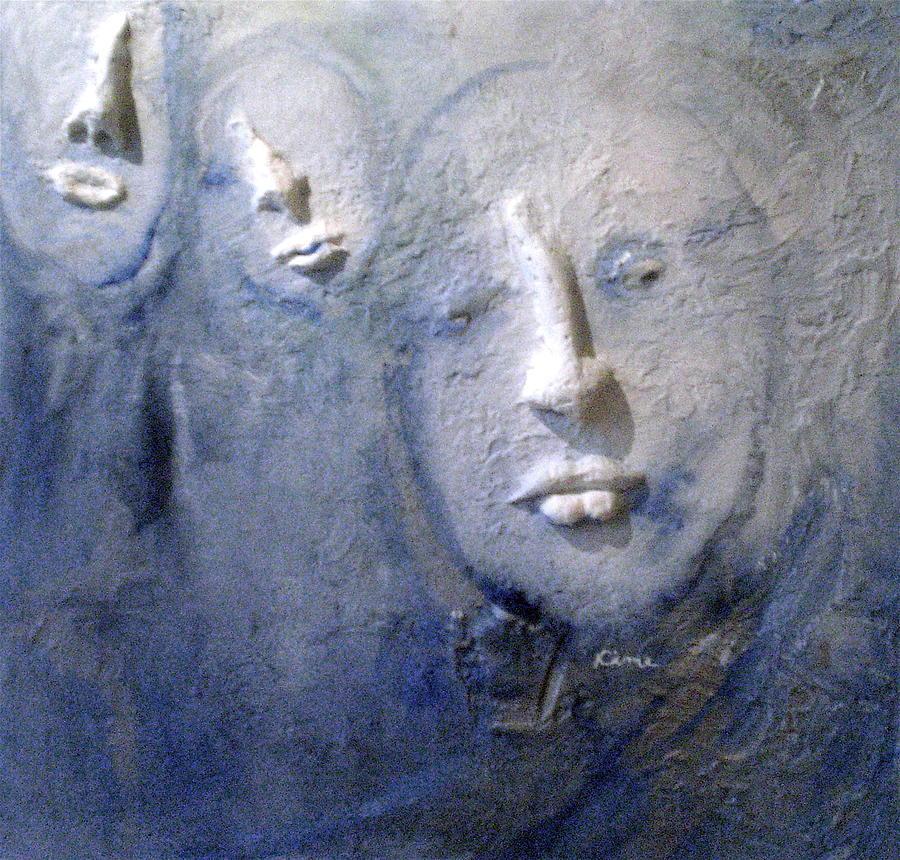 Portraits Painting - Metamorphosis by Kime Einhorn