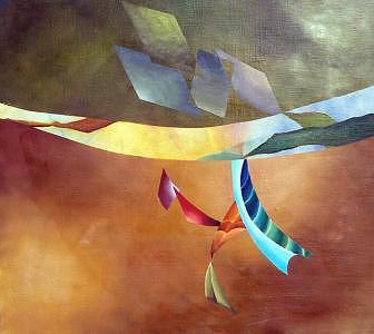 Metamorphosis Number One Painting by Al LONGO