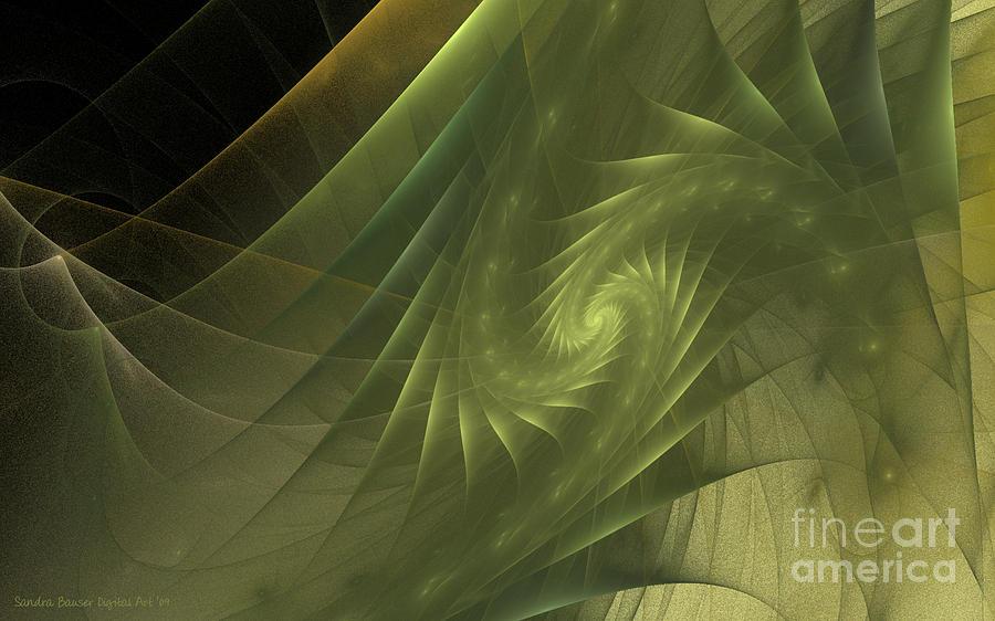 Digital Digital Art - Metamorphosis by Sandra Bauser Digital Art