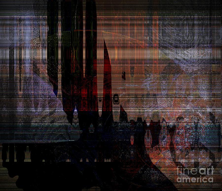 Fania Simon Mixed Media - Metaphysical Formations by Fania Simon