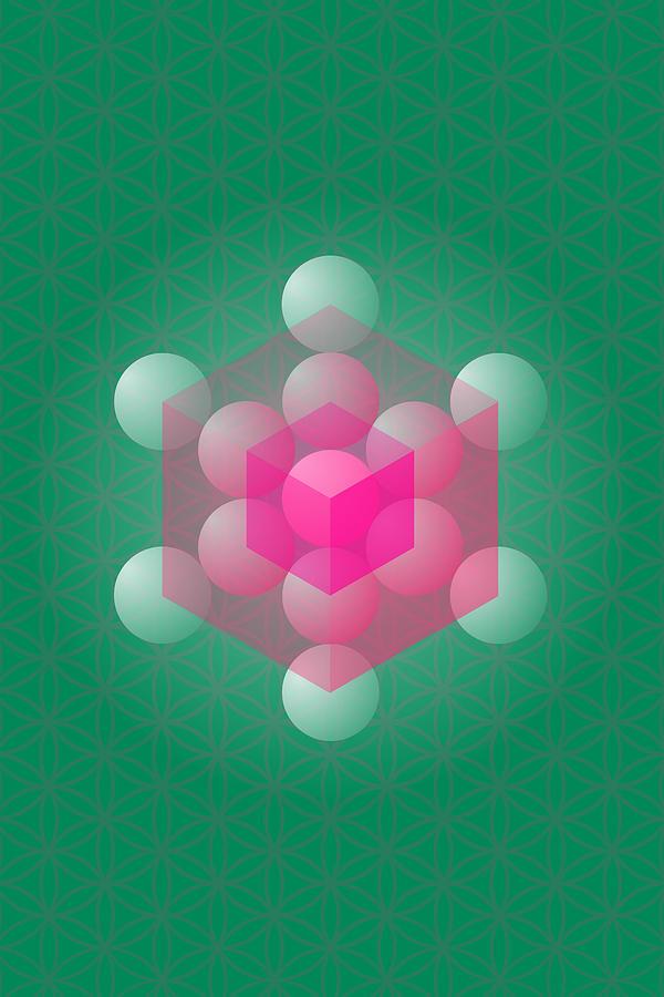 Kabbalah Photograph - Metathrons Cube by Selim Oezkan