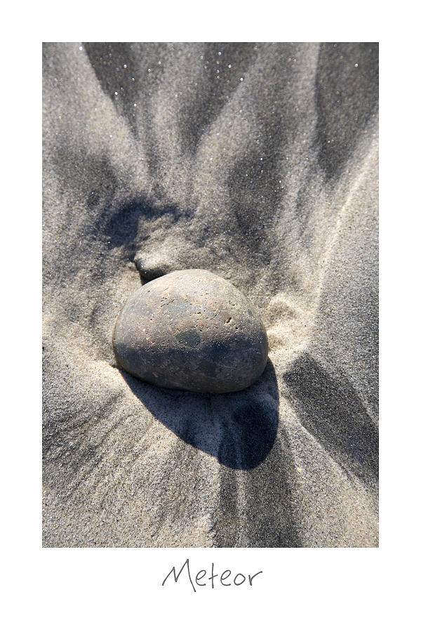 Beach Art Photograph - Meteor by Peter Tellone