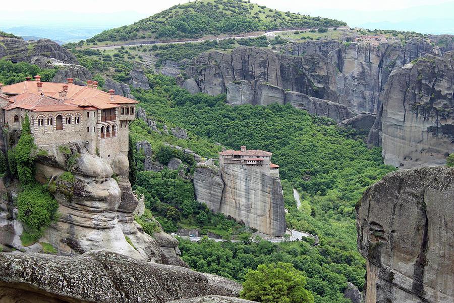 Meteora Monastery 2 by Ellen Henneke