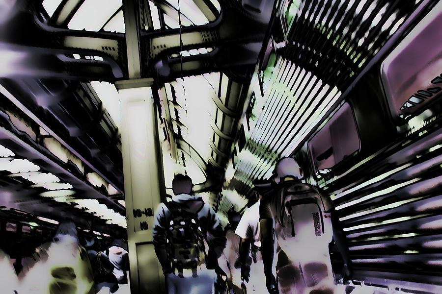Metra Commute by Bruce Richardson