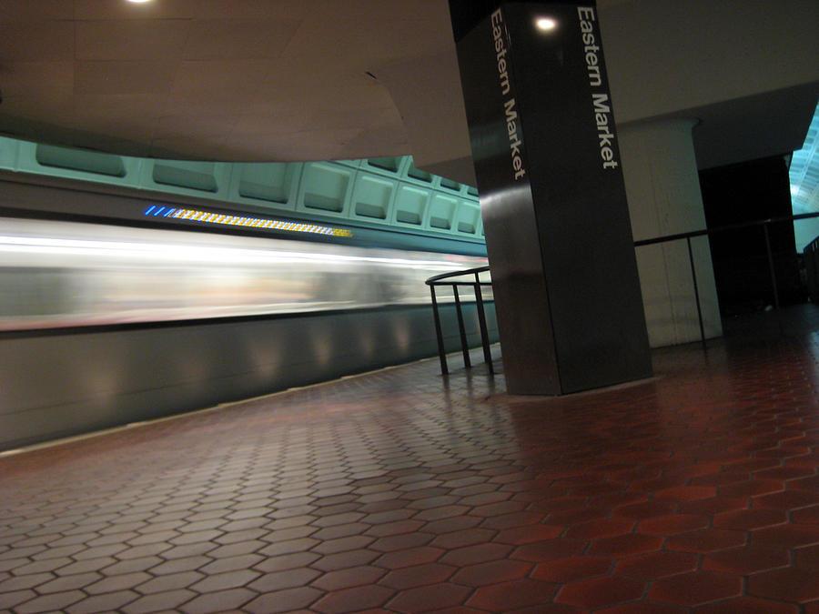 Metro Photograph - Metro Motion by Sean Owens