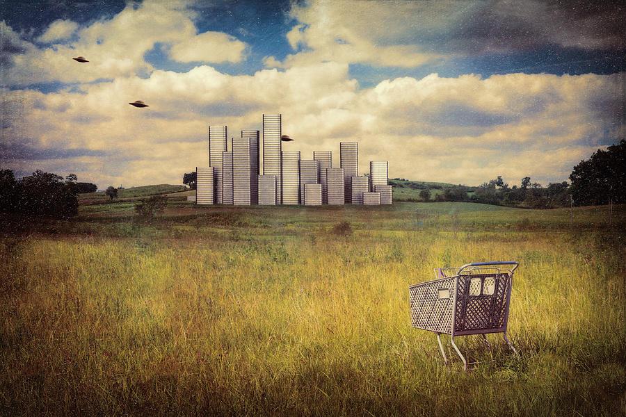 Landscape Photograph - Metropolis by Tom Mc Nemar