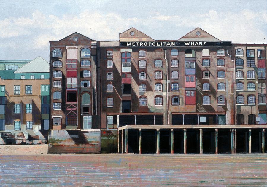Metropolitan Wharf Painting - Metropolitan Wharf by Peter Wilson