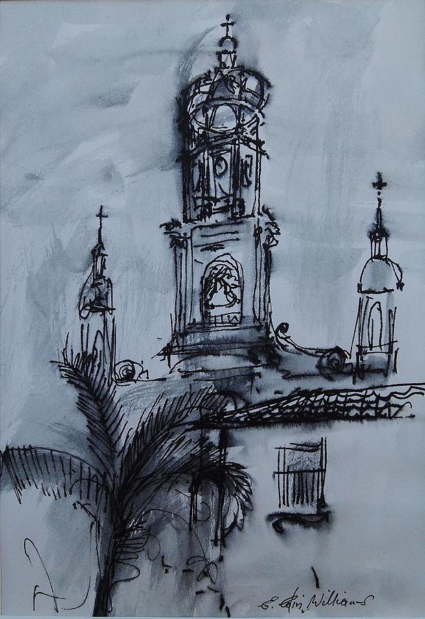 Mexican Church by E Colin Williams ARCA