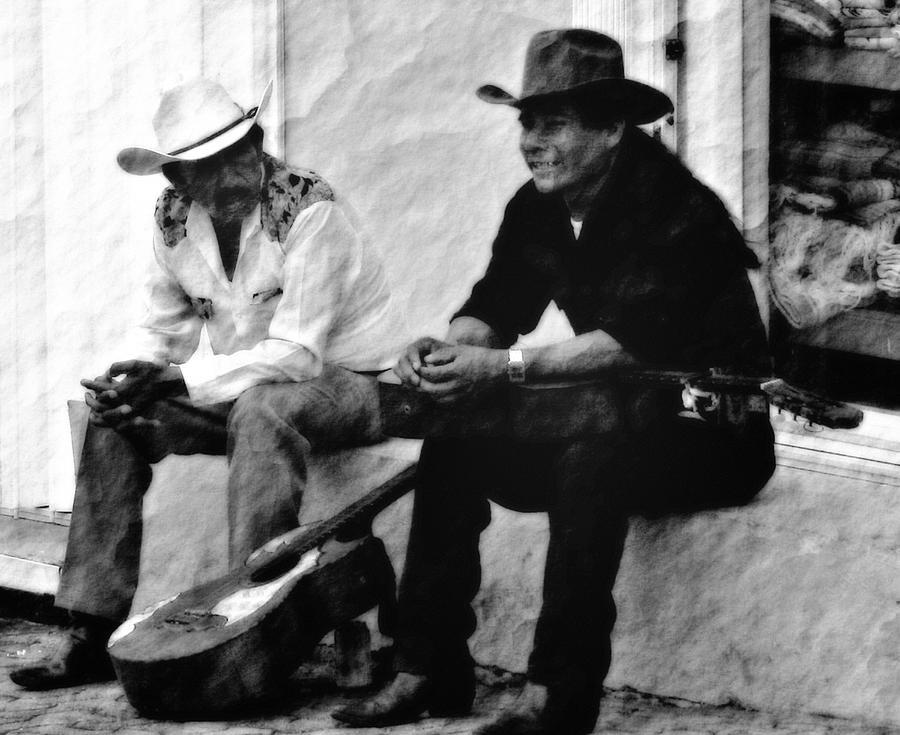 Mexican Photograph - Mexican Cowboys by Gina Cormier