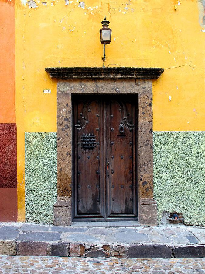 Mexican Doors Photograph - Mexican Door 2 by Pam Leverich & Mexican Door 2 Photograph by Pam Leverich