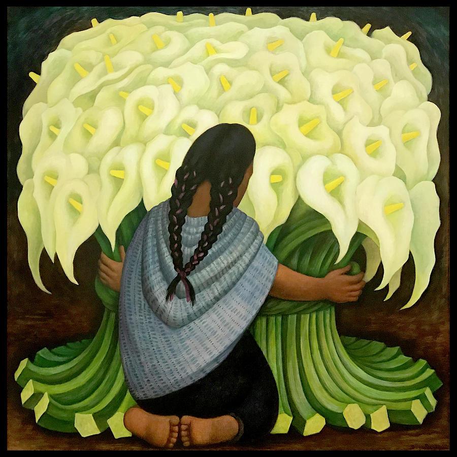 Mexican Flowers Digital Art by Gary Grayson