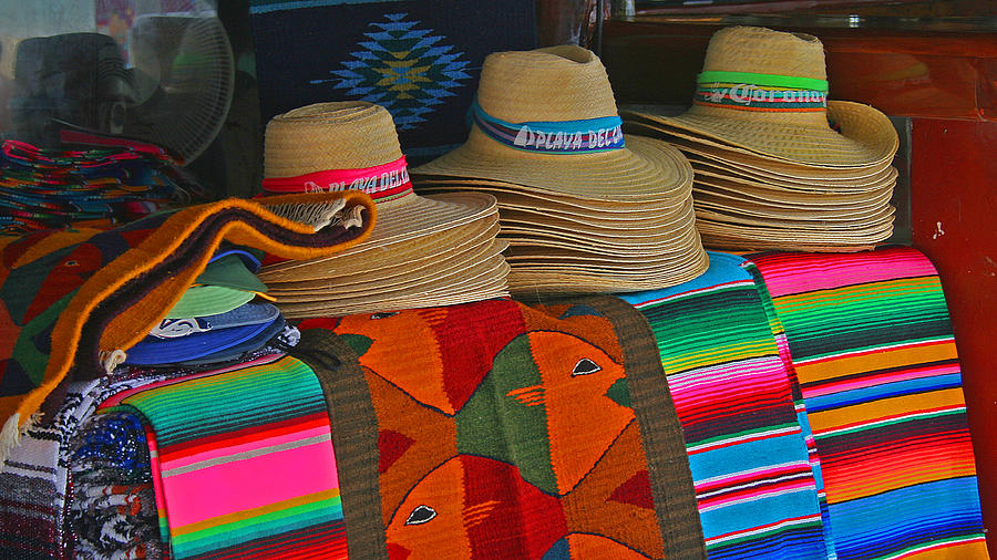 Colorful Photograph - Mexican Hat Dance by Gina Cormier